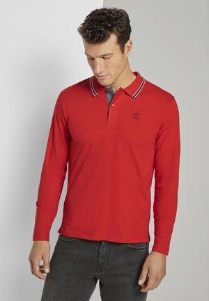 Polo shirt - strong blood orange