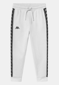 Kappa - INAMA UNISEX - Tracksuit bottoms - bright white - 0