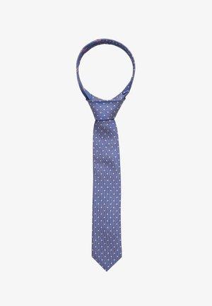 DOT TIE - Tie - blue