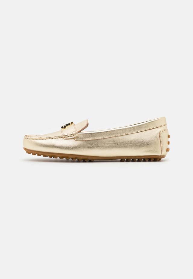 METALLIC BARNSBURY - Mocassins - pale gold