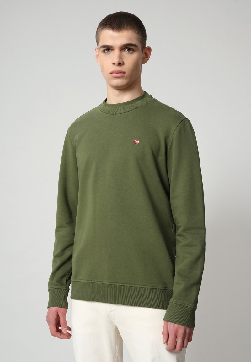 Napapijri - BALIS - Sweatshirt - green cypress