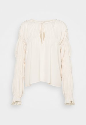 INTO YOU FLOWY BLOUSE - Blouse - beige