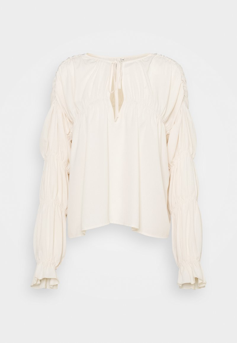 Nly by Nelly - INTO YOU FLOWY BLOUSE - Blůza - beige