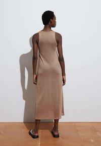 OYSHO - Jumper dress - camel - 1