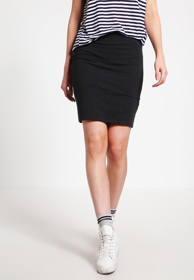 PENNY  - Pencil skirt - mouse grey melange