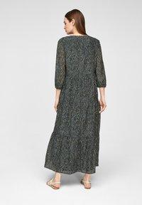 s.Oliver BLACK LABEL - Maxi dress - dark green aop - 2