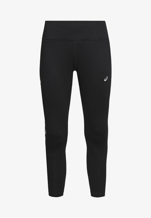 KATAKANA CROP TIGHT - Legginsy - performance black