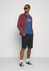 Esprit - LOGO - T-shirt z nadrukiem - blue - 1