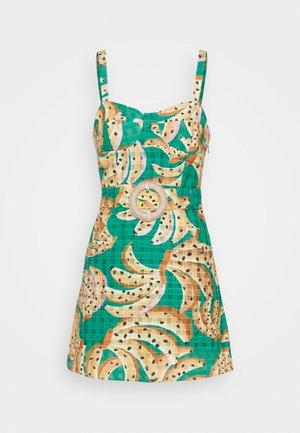 RAINING BANANAS MINI DRESS - Day dress - multi