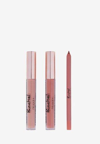 REVOLUTION X FRIENDS RACHEL LIP KIT - Makeup set - pale pink/nude