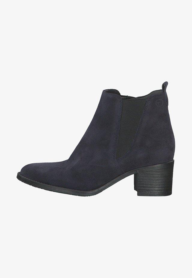 Boots à talons - navy suede