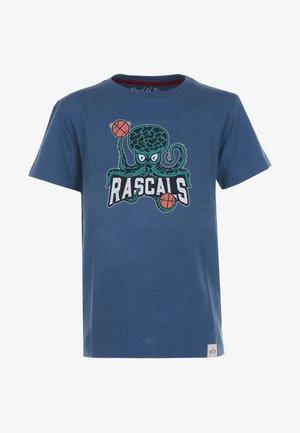OCTOPUS - T-shirt med print - blue