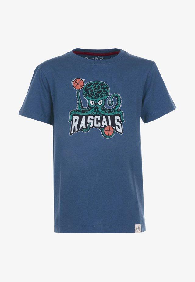 OCTOPUS - T-shirts print - blue