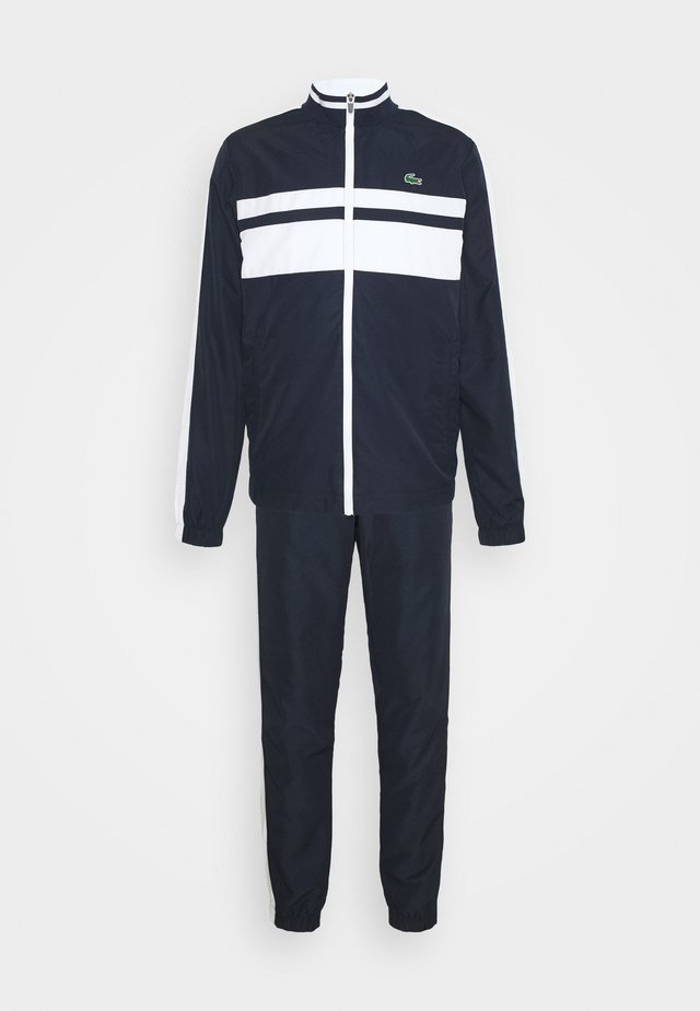 TRACK SUIT - Trainingspak - navy blue/white