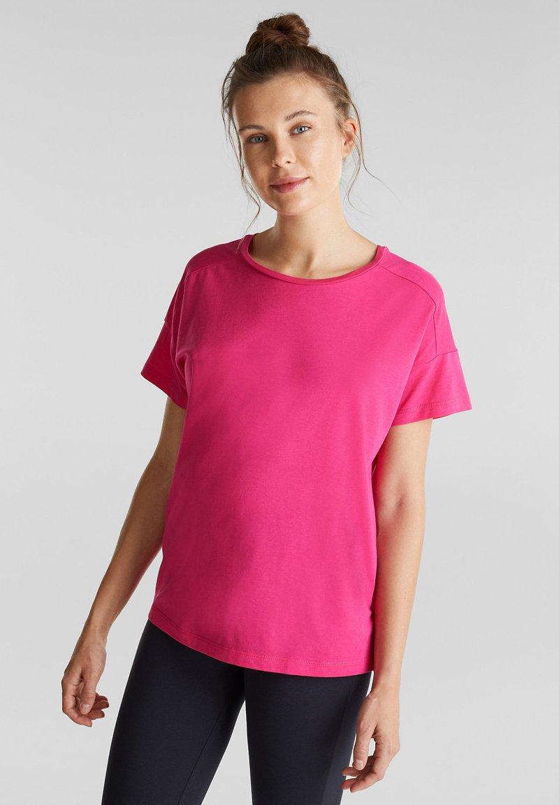 Esprit Sports - Print T-shirt - pink fuchsia
