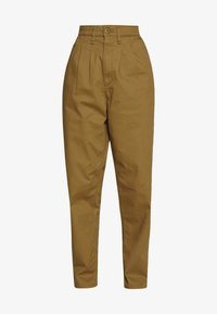 Levi's® - PLEATED BALLOON - Relaxed fit jeans - dull gold - 4