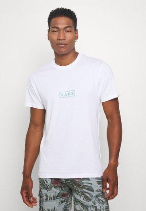 EASY BOX  - Camiseta estampada - white/mint