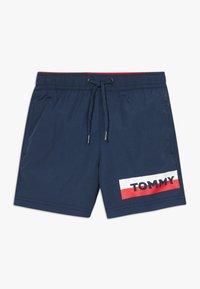 Tommy Hilfiger - MEDIUM DRAWSTRING - Shorts da mare - blue - 0