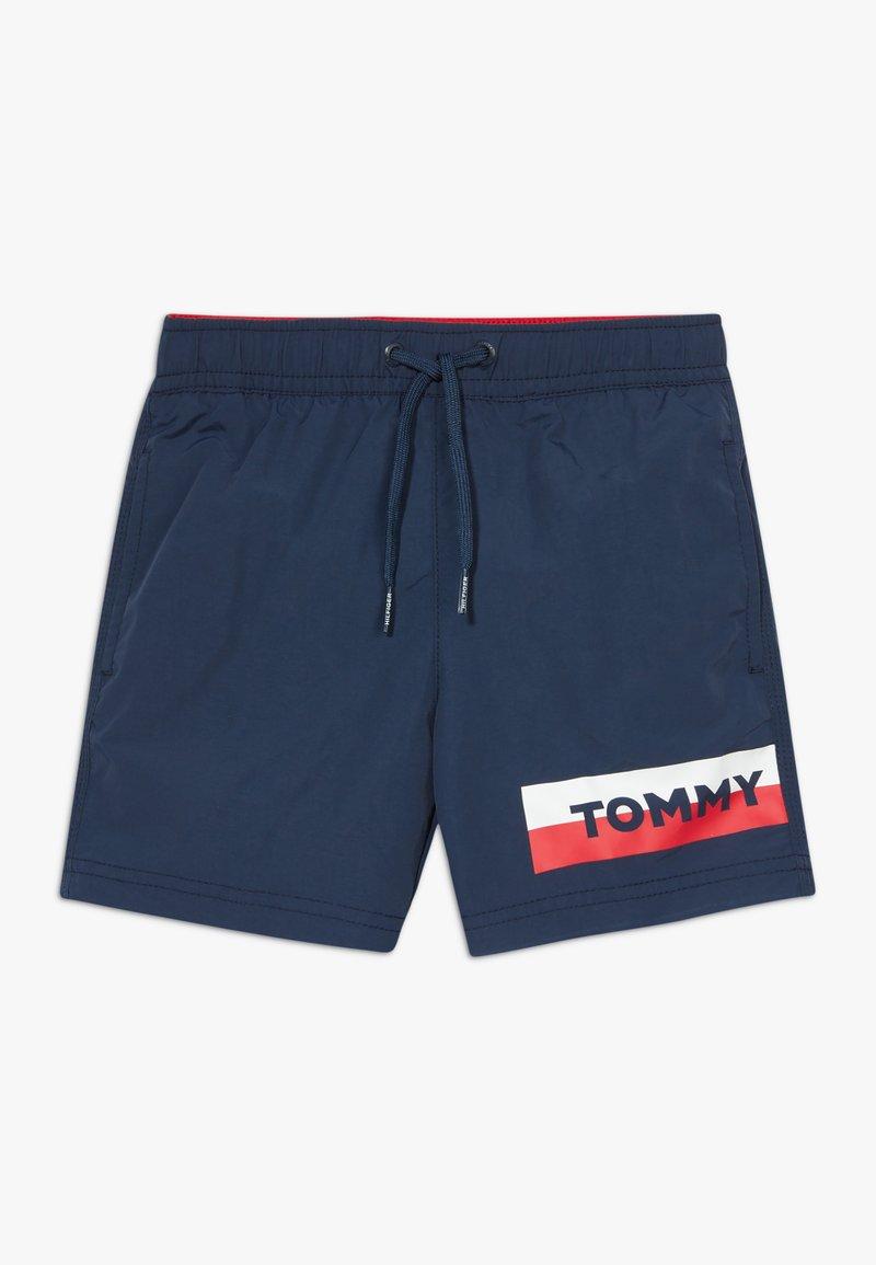 Tommy Hilfiger - MEDIUM DRAWSTRING - Shorts da mare - blue