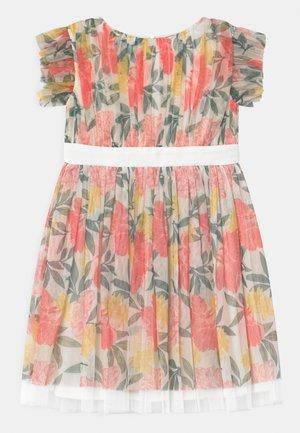 BOW BACK - Vestido de cóctel - summer floralprint