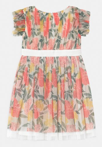 PRINTED DRESS WITH BOW BACK - Cocktail dress / Party dress - summer floralprint
