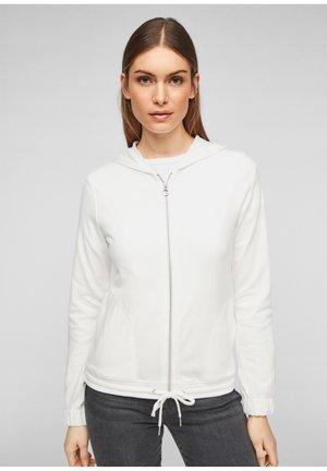 JAS - Zip-up sweatshirt - offwhite
