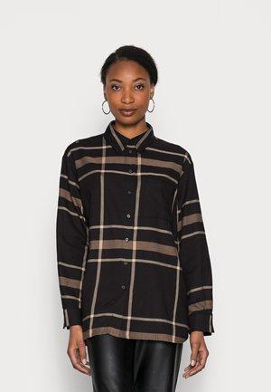 FINELI - Button-down blouse - truffle