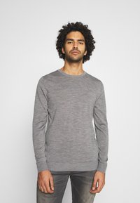 Jack & Jones - JJEMARK CREW NECK - Maglione - grey melange - 0