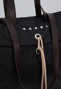 Marni - Shopping bag - black/red/brown - 2
