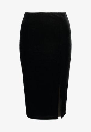 VINCI SKIRT - Pencil skirt - black