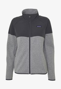 Patagonia - BETTER SWEATER SHELLED - Fleece jacket - feather grey - 4