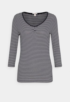 CORE STRIPE - Long sleeved top - navy