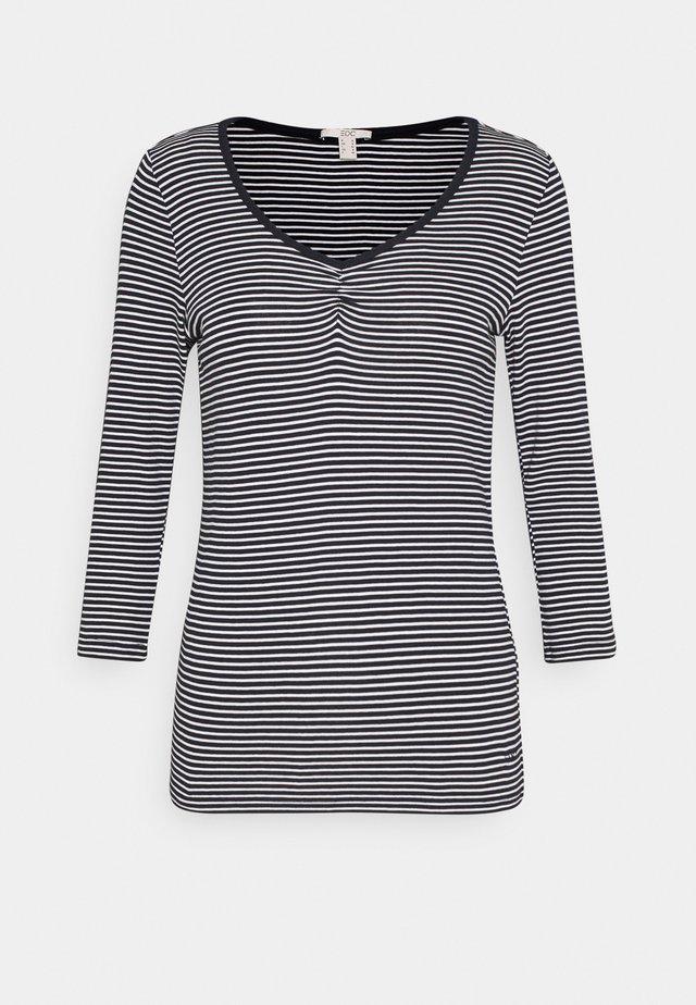 CORE STRIPE - T-shirt à manches longues - navy