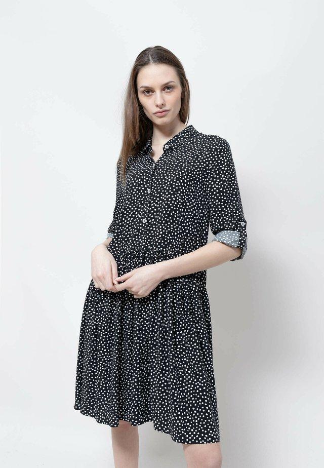 ZIA - Robe chemise - black