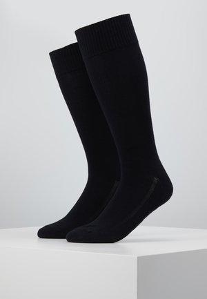 VINTAGE CUT 2PACK - Socks - jet black
