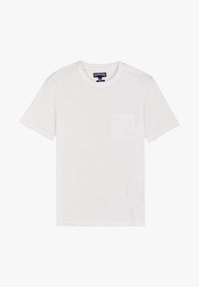 T-shirt basique - chalk