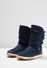 Kappa - Winter boots - navy/mint - 3