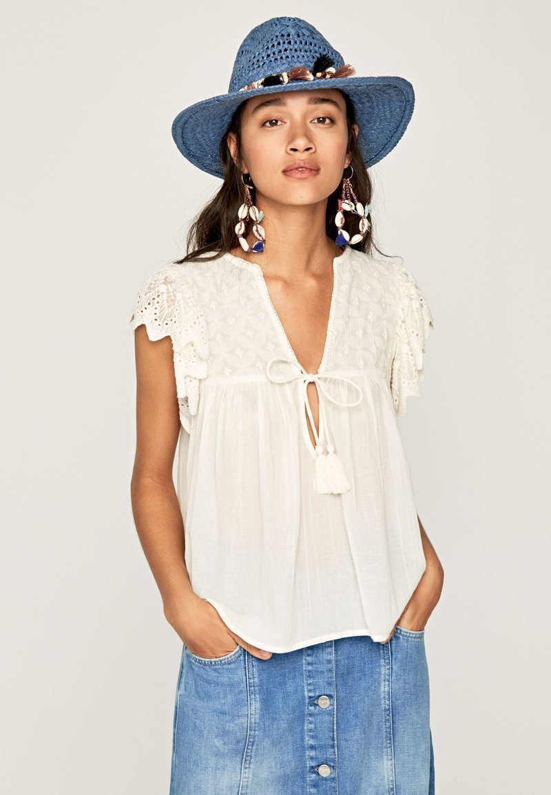 Pepe Jeans - ELIF - Blouse - white