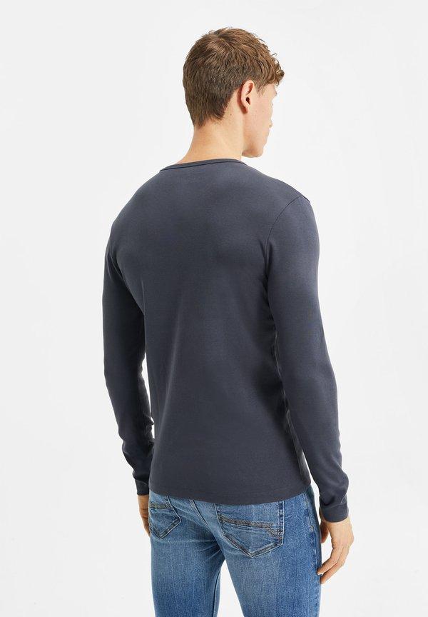 WE Fashion Bluzka z długim rękawem - greyish blue/niebieskoszary Odzież Męska GAEM