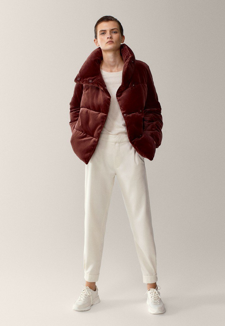 Massimo Dutti - Winter jacket - bordeaux
