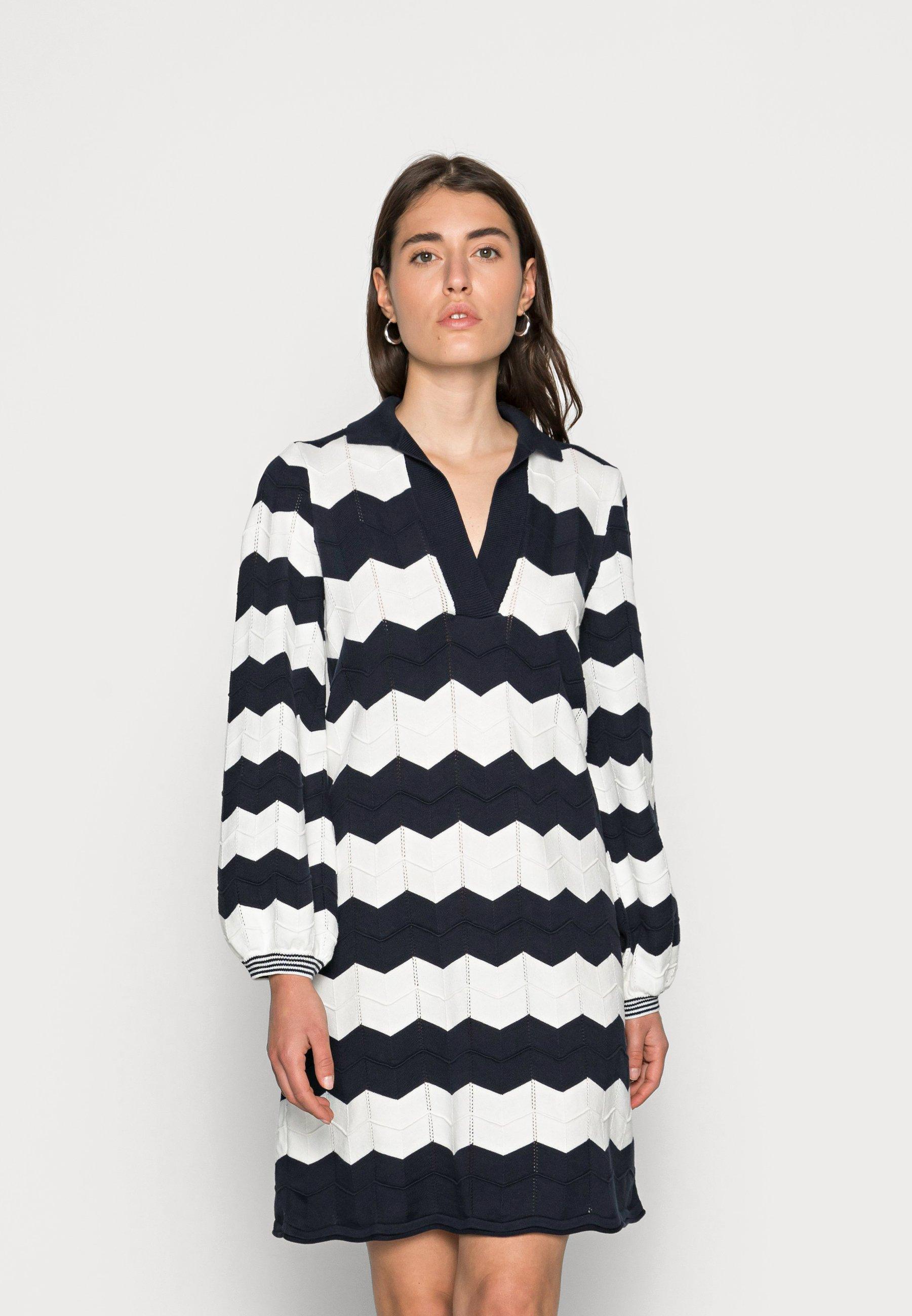 Mujer ZIGZAG DRESS - Vestido informal
