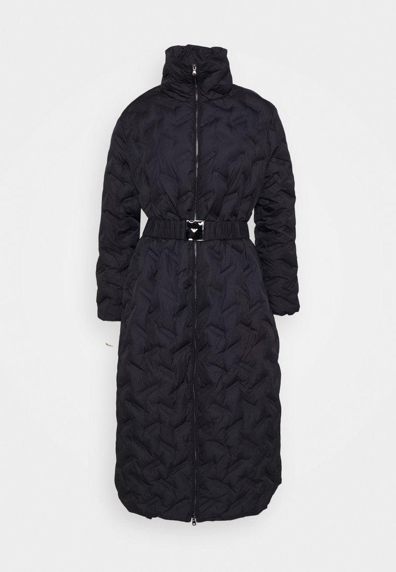 Emporio Armani - Winter coat - blu navy