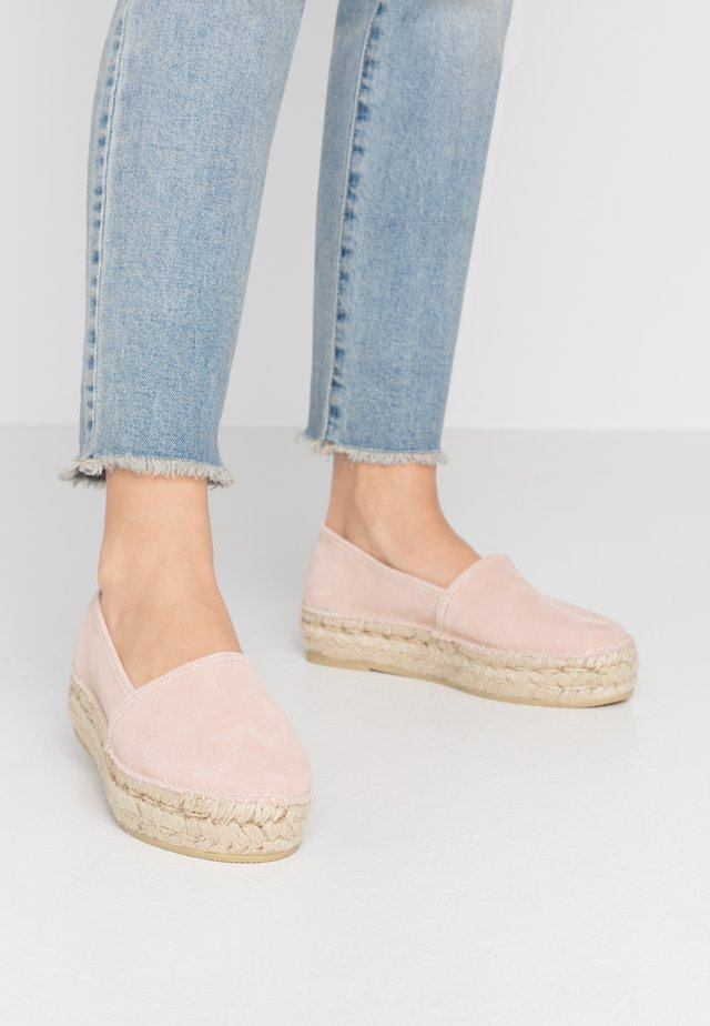 CLASSIC - Loafers - rosé