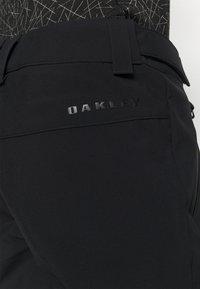 Oakley - WOMENS PANT - Pantalón de nieve - blackout - 3