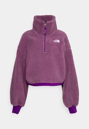 PLATTE - Flīsa džemperis - pikes purple/gravity purple
