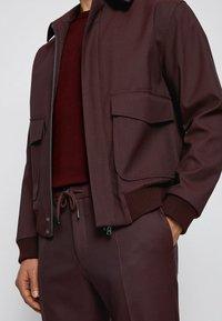 BOSS - Summer jacket - dark red - 4