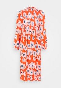 Never Fully Dressed Petite - SWEDISH FLOWER MIDAXI DRESS - Day dress - orange - 0