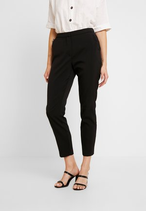 VMIZZA CIGARET PANTS - Tygbyxor - black