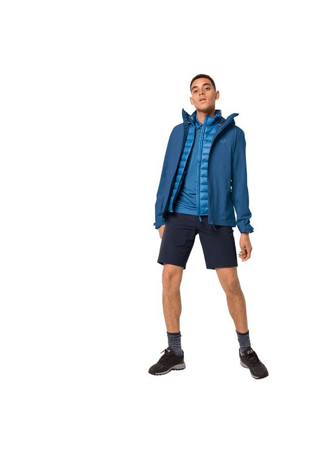 Hardshell jacket - indigo blue