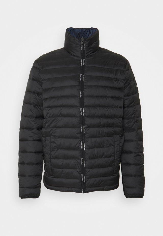 REVERSIBLE JACKET - Summer jacket - black